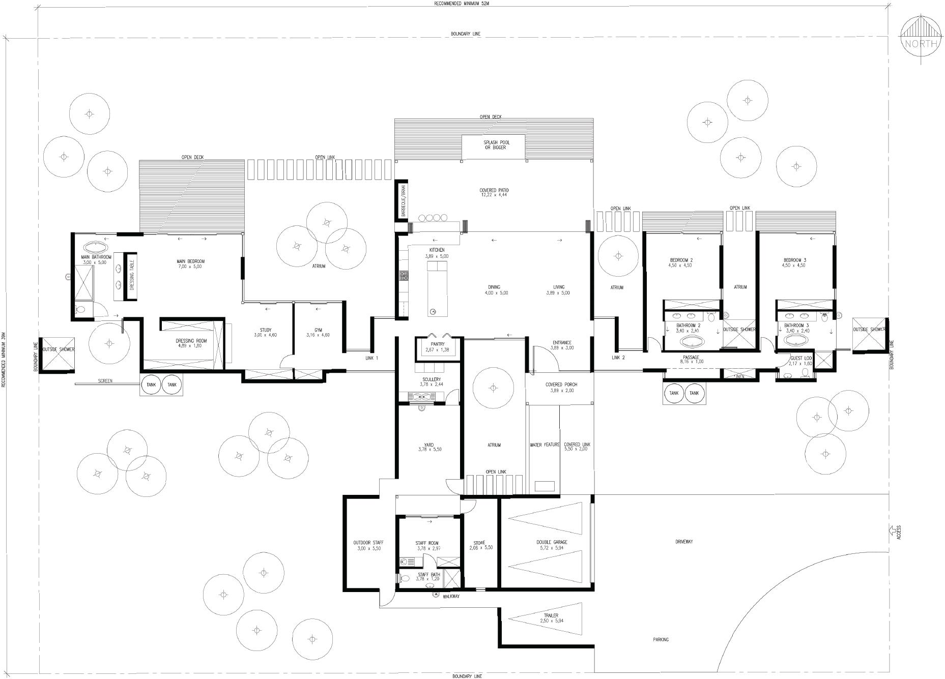 Buy Eco Bush Home Plans Online Hugo Hamity Architects